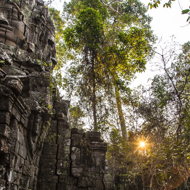 """Banteay Kdei Dream"" stock image"