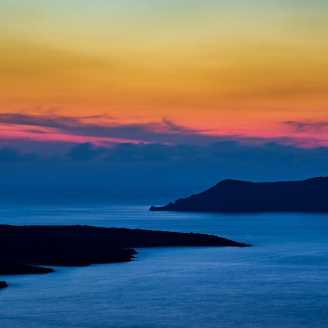 """Santorini Dreams"" stock image"