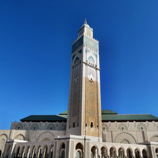 """""""Hassan II Mosque. Casablanca"""" stock image"""