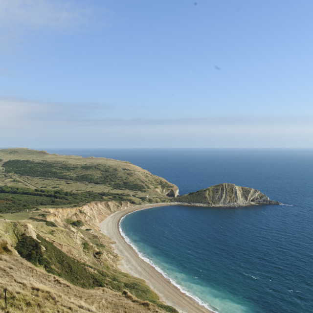 """Worbarrow Bay in Dorset"" stock image"