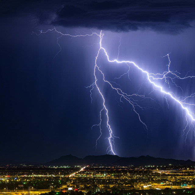 """Lightning bolt"" stock image"