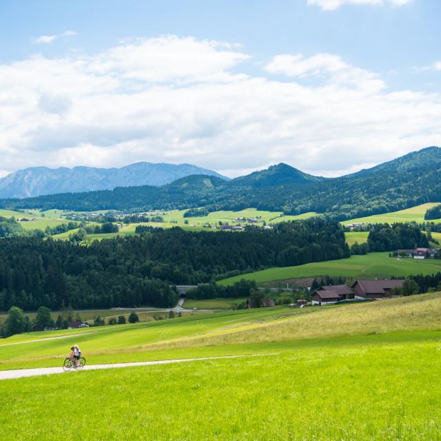 """Oberwang Landscape #507"" stock image"