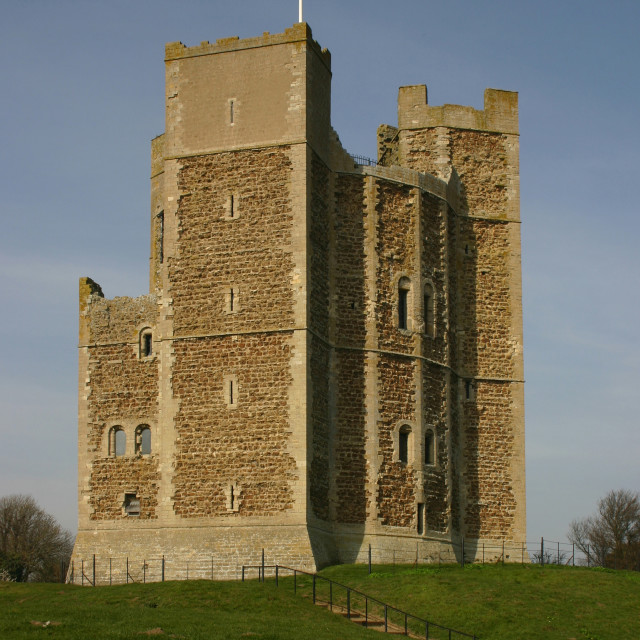 """Orford Castle"" stock image"