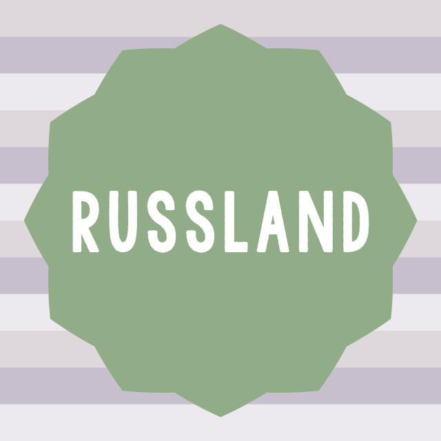 """""""Text sign showing Russland. Conceptual photo former empire of eastern Europe..."""" stock image"""