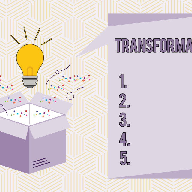 """""""Conceptual hand writing showing Transformation. Business photo text A marked..."""" stock image"""