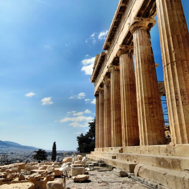 """""""The Acroplis, Athens"""" stock image"""