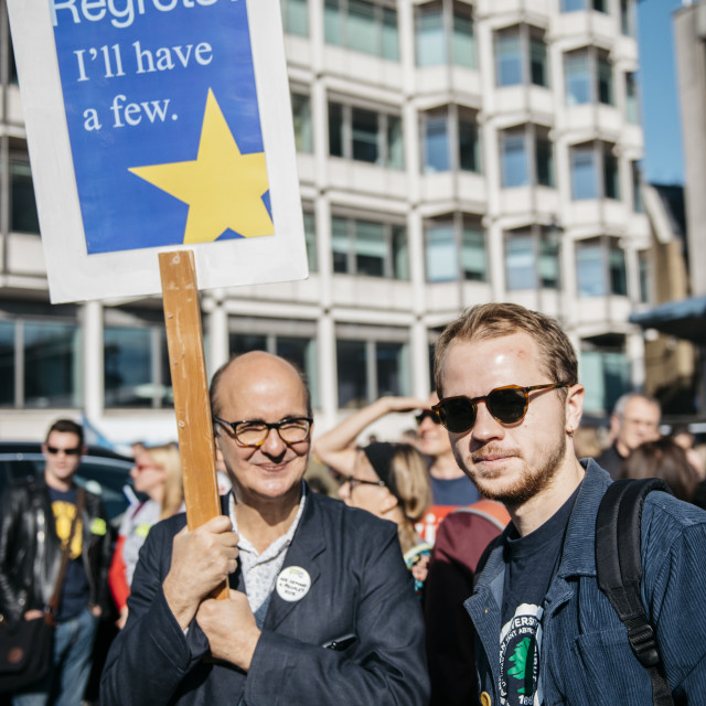 """""""Peoples' Vote March [1]"""" stock image"""