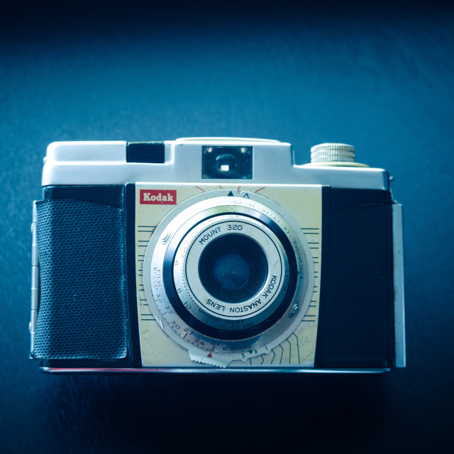 """Kodak Moment - Colorsnap 35"" stock image"