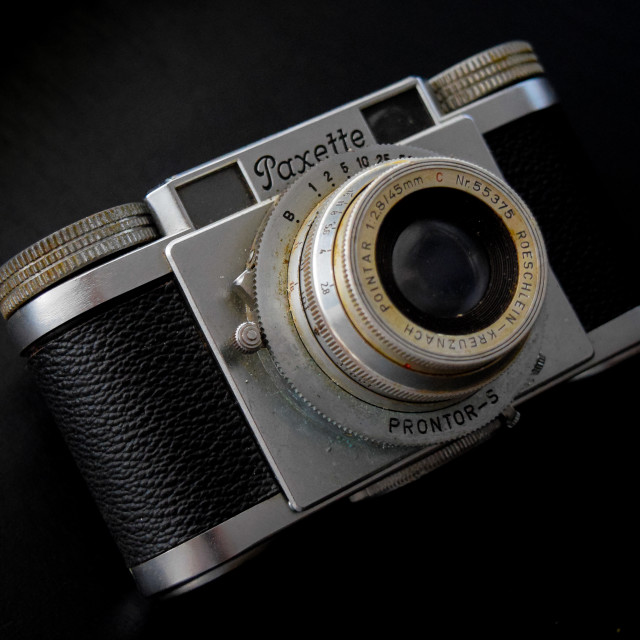 """Paxette Vintage Camera"" stock image"
