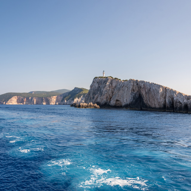 """""""Cruise trip to Greece at summer."""" stock image"""