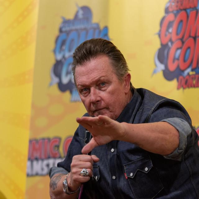"""FRANKFURT, GERMANY - MAY 6th 2018: Robert Patrick at German Comic Con Frankfurt"" stock image"