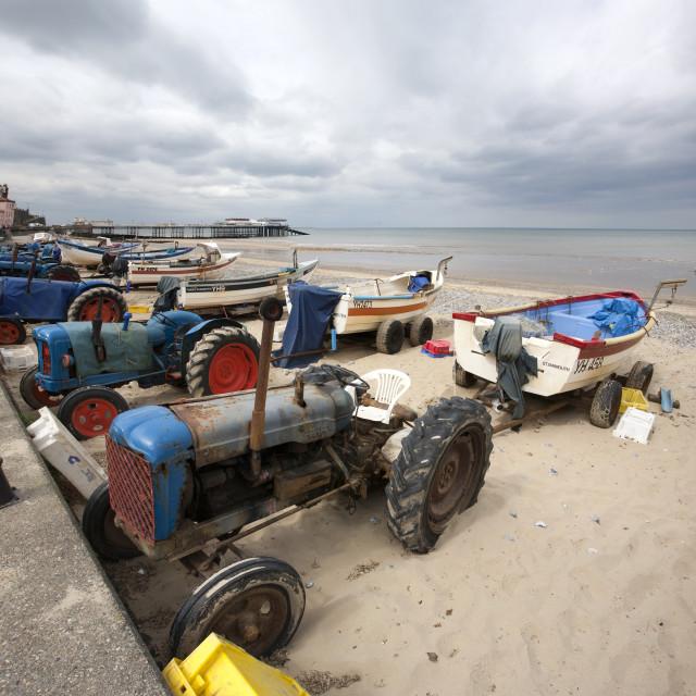 """""""Beach Tractors"""" stock image"""