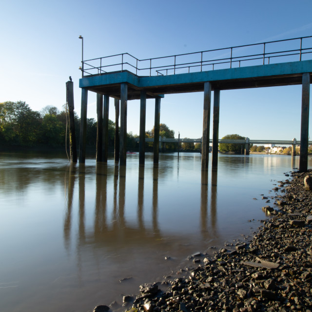 """Thames Riverside"" stock image"