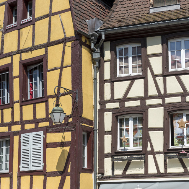 """Houses in Colmar"" stock image"
