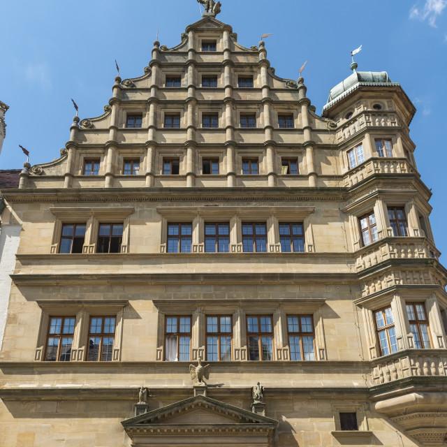 """Rothenburg Town Hall"" stock image"
