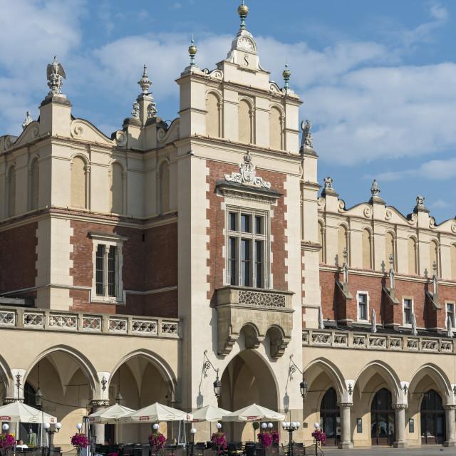 """Krakow Cloth Hall"" stock image"