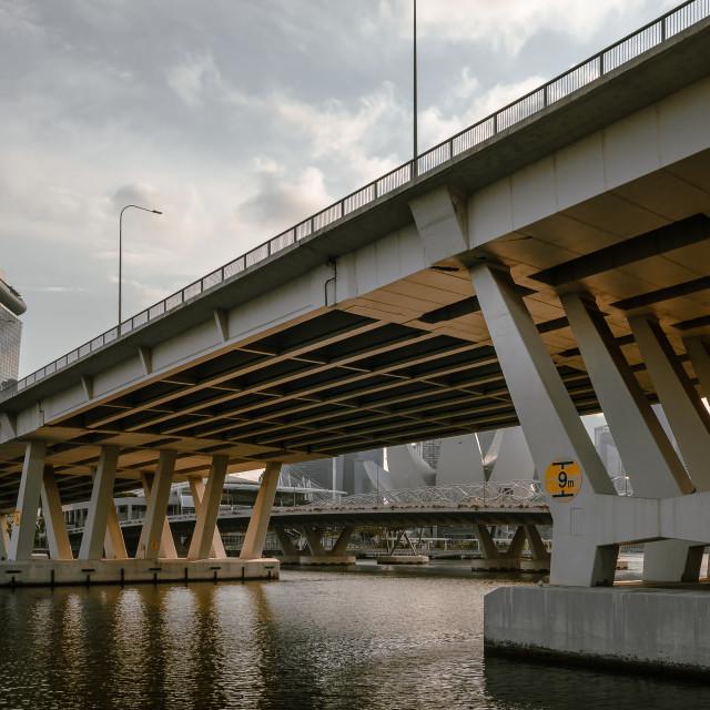 """""""Bridge to MBS"""" stock image"""