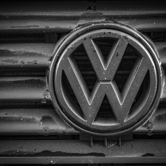 """Volkswagon Badge"" stock image"