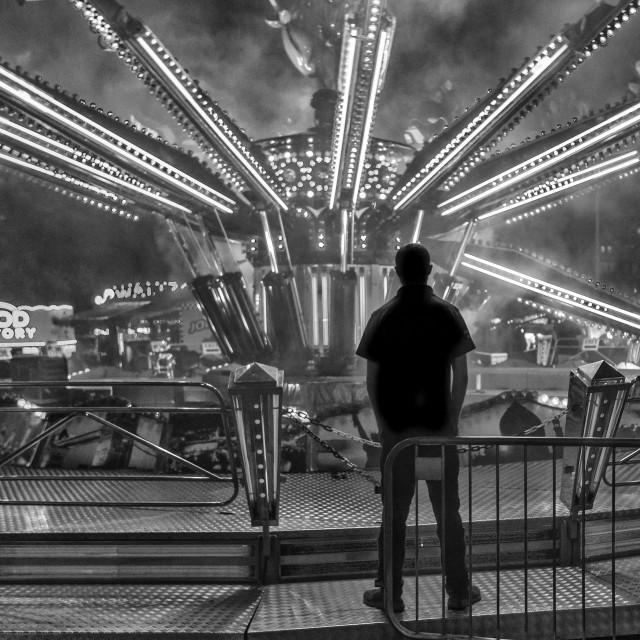 """Fairground ride"" stock image"