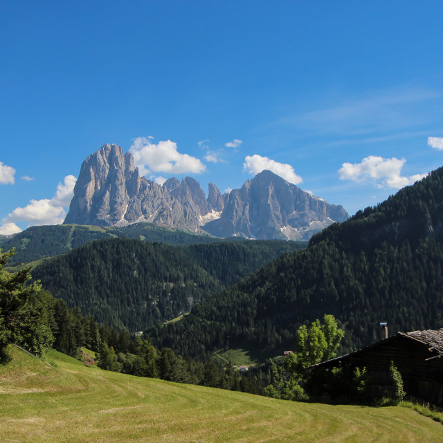 """Peace in the Dolomites"" stock image"