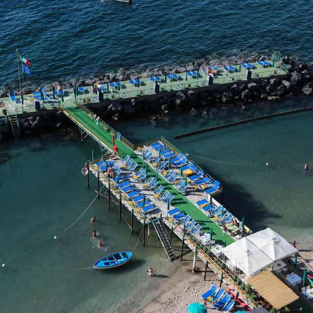 """Bathing Piers Five"" stock image"