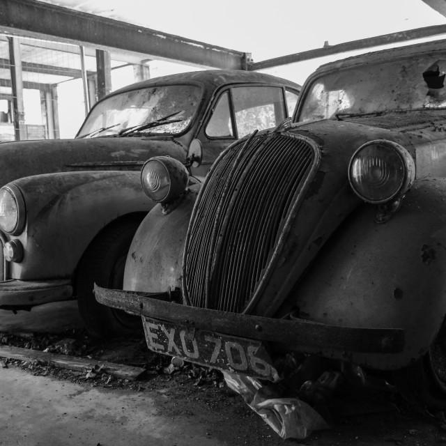 """""""Abandoned Cars"""" stock image"""