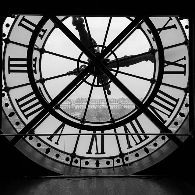 """""""Big Clock Face"""" stock image"""
