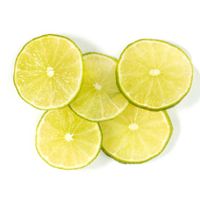 """lime sliced"" stock image"