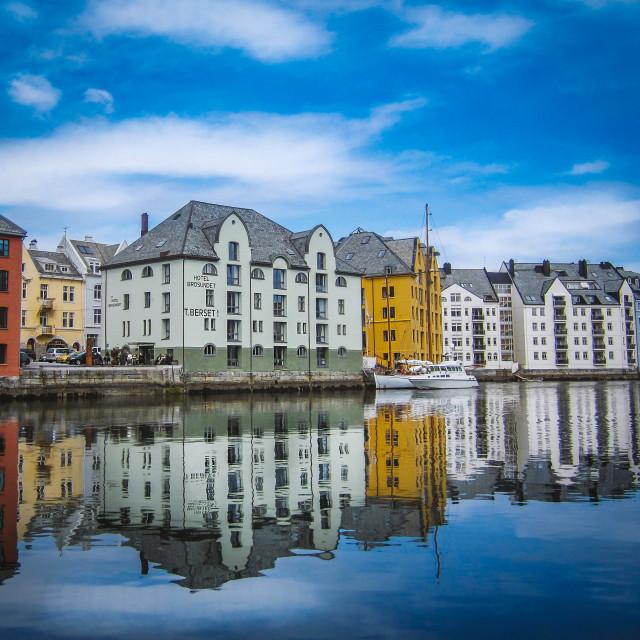 """""""Ålesund Norway"""" stock image"""