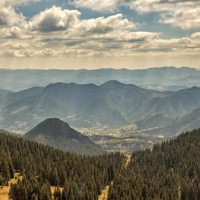 """Mountain landscape."" stock image"