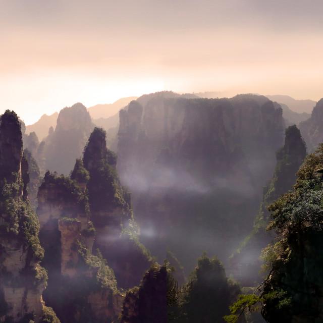 """City of Avatar"" stock image"