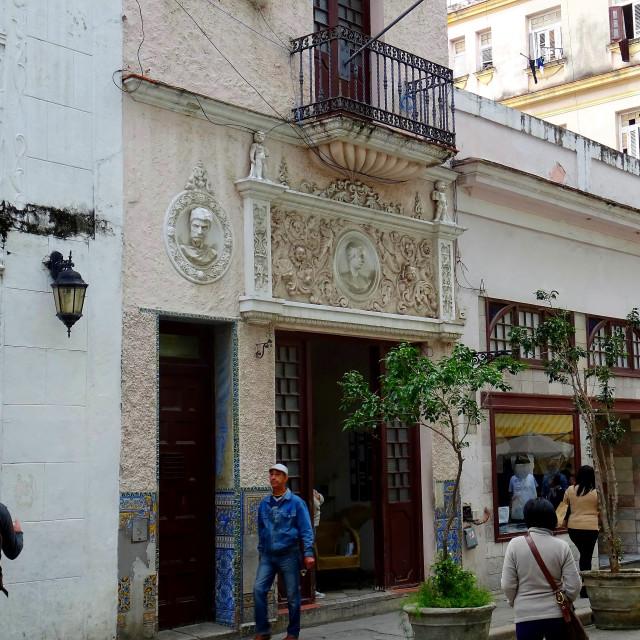 """Street life in Havana"" stock image"