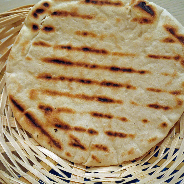 """Greek pita"" stock image"