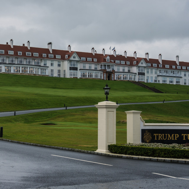 """Trump Turnberry"" stock image"