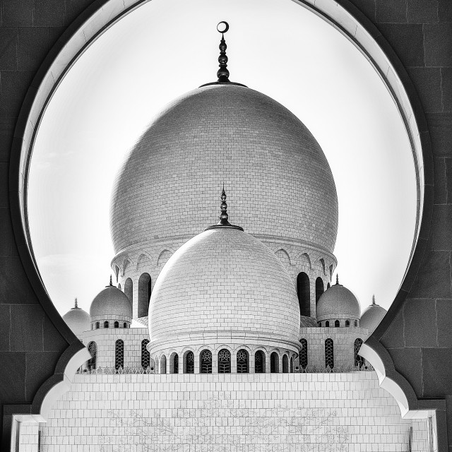 """The Mosque"" stock image"