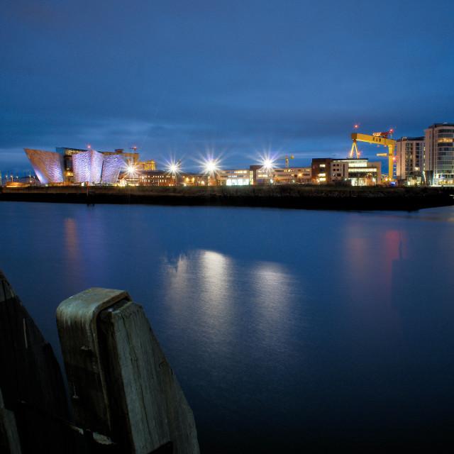 """Titanic Quarter Belfast"" stock image"