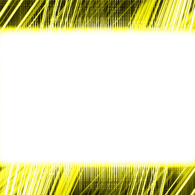 """""""Yellow light trails frame"""" stock image"""