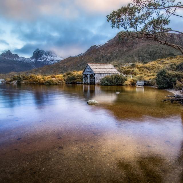 """Boat House"" stock image"
