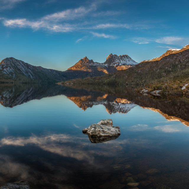 """Dove Lake"" stock image"