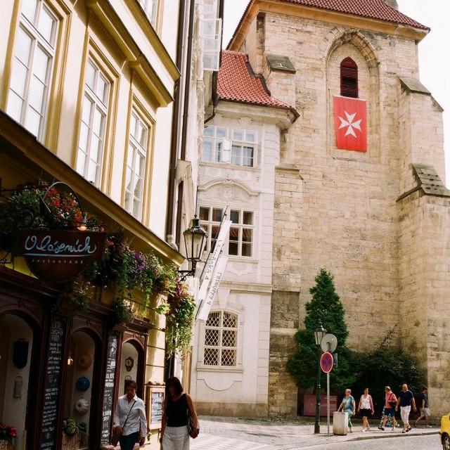 """streets of Prague"" stock image"