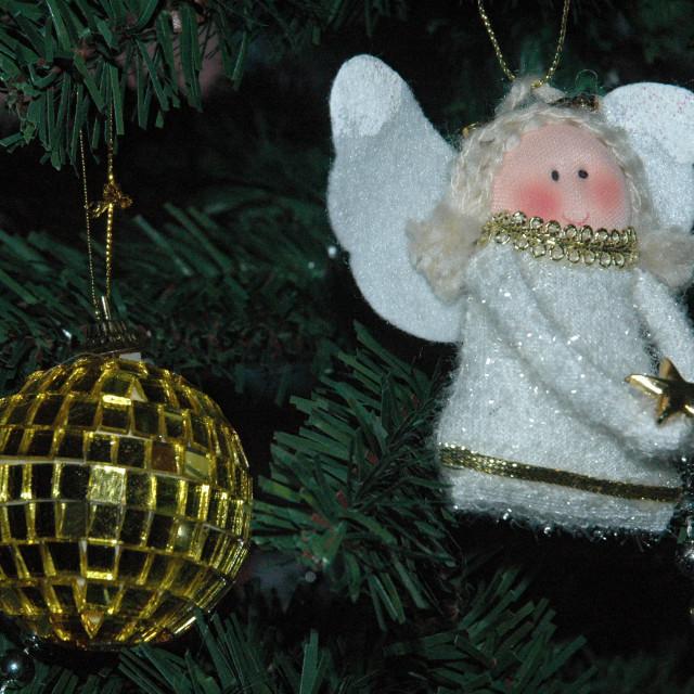 """""""Christmas Angel"""" stock image"""