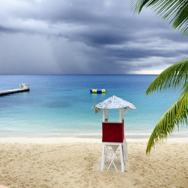 """Incoming rain"" stock image"