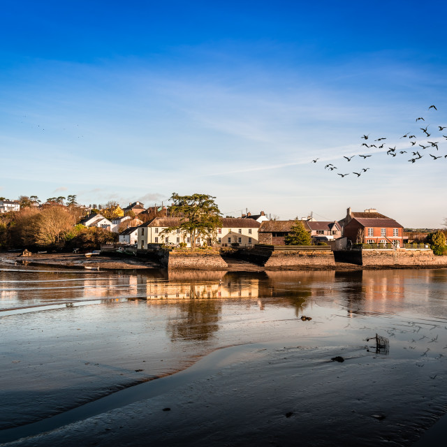 """Scenic view of the harbor of Kinsale in Ireland"" stock image"