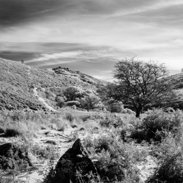"""Below Black Tor"" stock image"