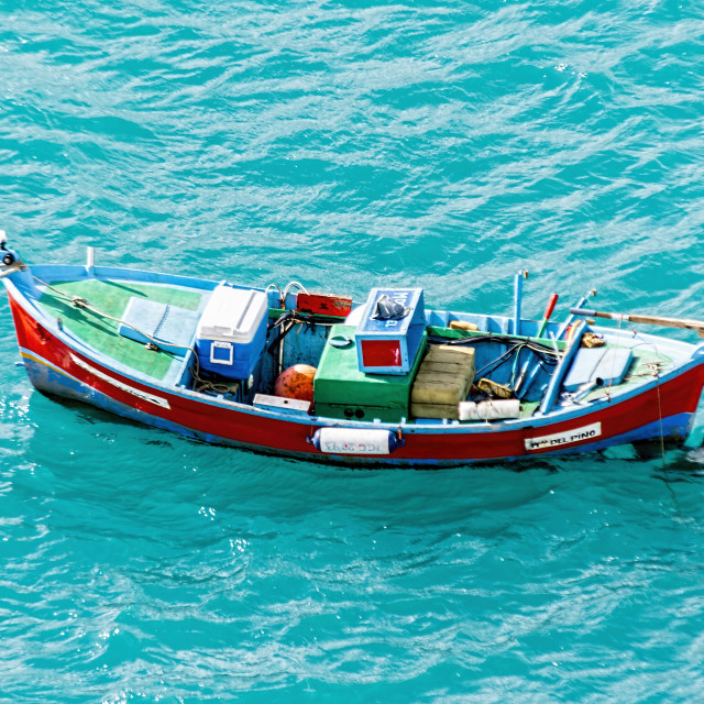 """Fishing boat."" stock image"