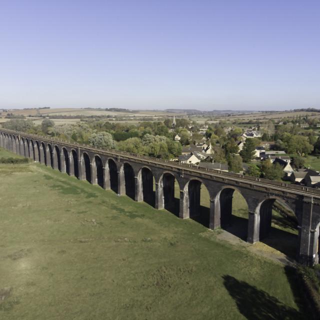 """""""Railway Viaduct"""" stock image"""