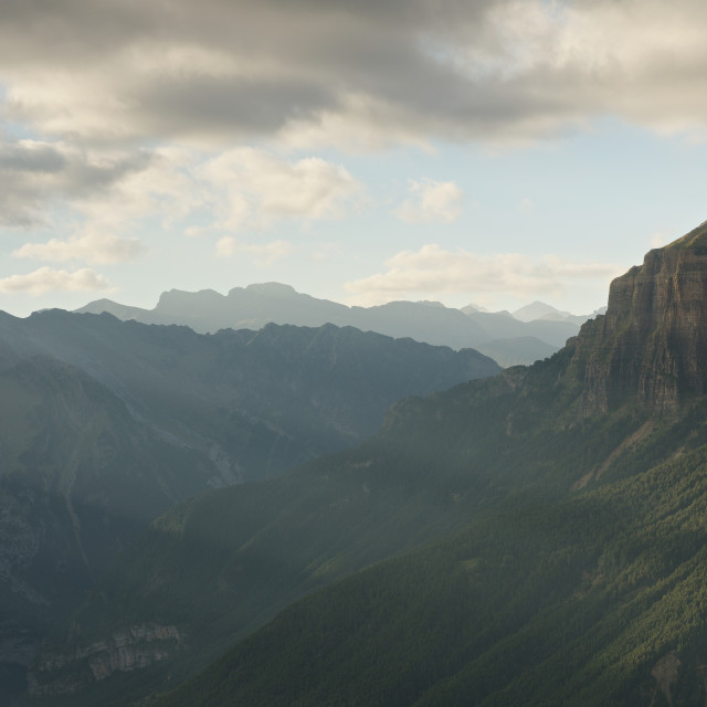 """The Ordesa Valley"" stock image"