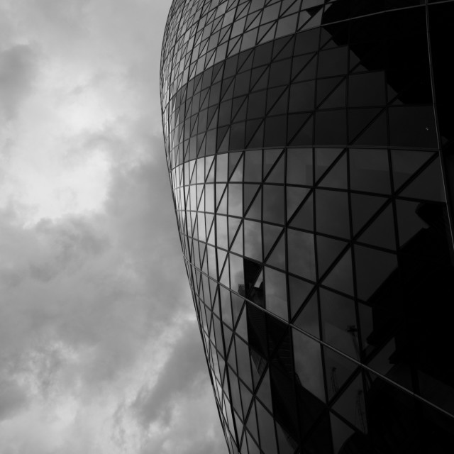"""30 St Mary Axe, London"" stock image"
