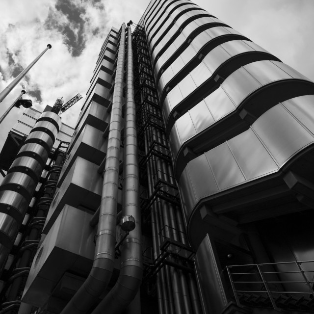 """Lloyds building, London"" stock image"