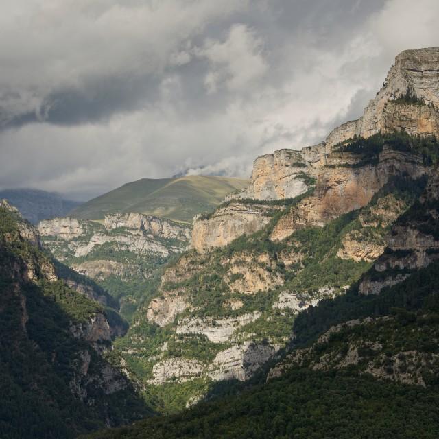 """Canyon Anisclo"" stock image"